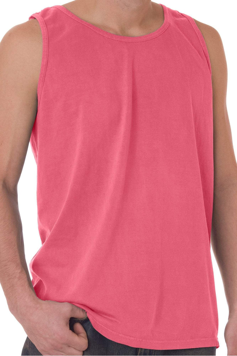 ae213a72ef277 Shade of Pink Purple Comfort Colors Cotton Tank Top  9360  Personalize It  (. Comfort Colors Cotton Tank Top  9360