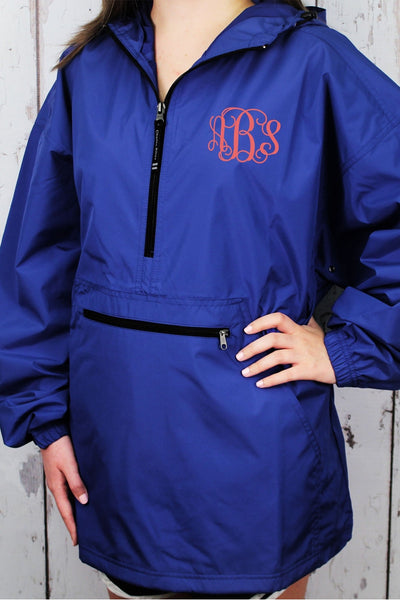 Charles River Lightweight Rain Pullover, Royal #9904 *Customizable! (Wholesale Pricing N/A.. PLEASE ALLOW 3-5 BUSINESS DAYS.. EXPEDITED SHIPPING N/A) - Wholesale Accessory Market