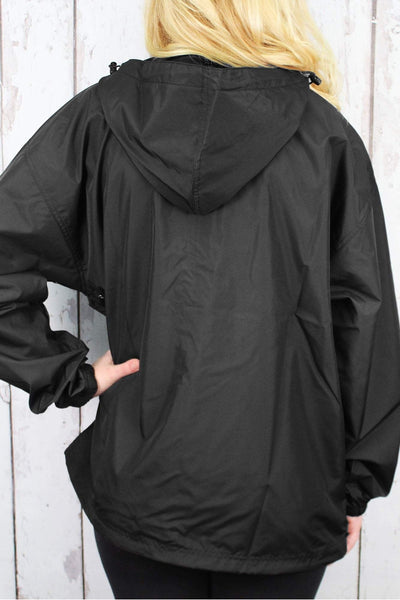 Charles River Lightweight Rain Pullover, Black #9904 *Customizable! (Wholesale Pricing N/A.. PLEASE ALLOW 3-5 BUSINESS DAYS.. EXPEDITED SHIPPING N/A) - Wholesale Accessory Market