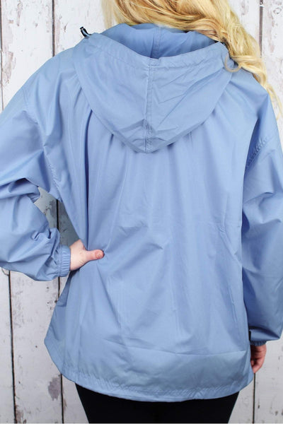 Charles River Lightweight Rain Pullover, Columbia Blue #9904 *Customizable! (Wholesale Pricing N/A.. PLEASE ALLOW 3-5 BUSINESS DAYS.. EXPEDITED SHIPPING N/A) - Wholesale Accessory Market