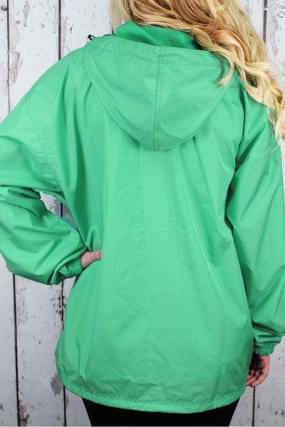 Charles River Lightweight Rain Pullover, Mint #9904 *Customizable! (Wholesale Pricing N/A.. PLEASE ALLOW 3-5 BUSINESS DAYS.. EXPEDITED SHIPPING N/A) - Wholesale Accessory Market