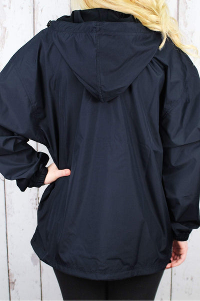 Charles River Lightweight Rain Pullover, Navy #9904 *Customizable! (Wholesale Pricing N/A.. PLEASE ALLOW 3-5 BUSINESS DAYS.. EXPEDITED SHIPPING N/A) - Wholesale Accessory Market
