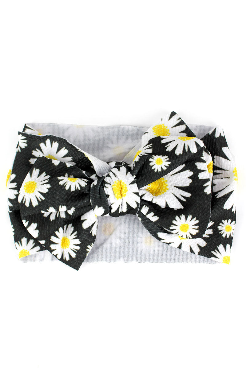 Daisy Big Bow Baby Headband