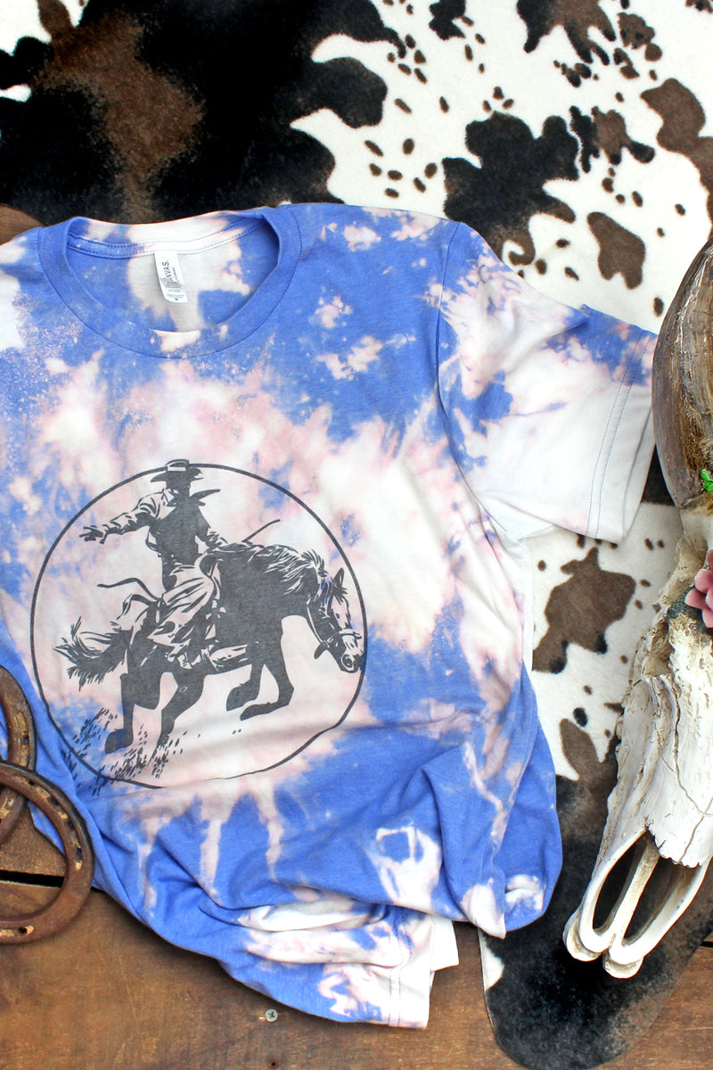 Bleached Broncs Unisex Short Sleeve T-Shirt