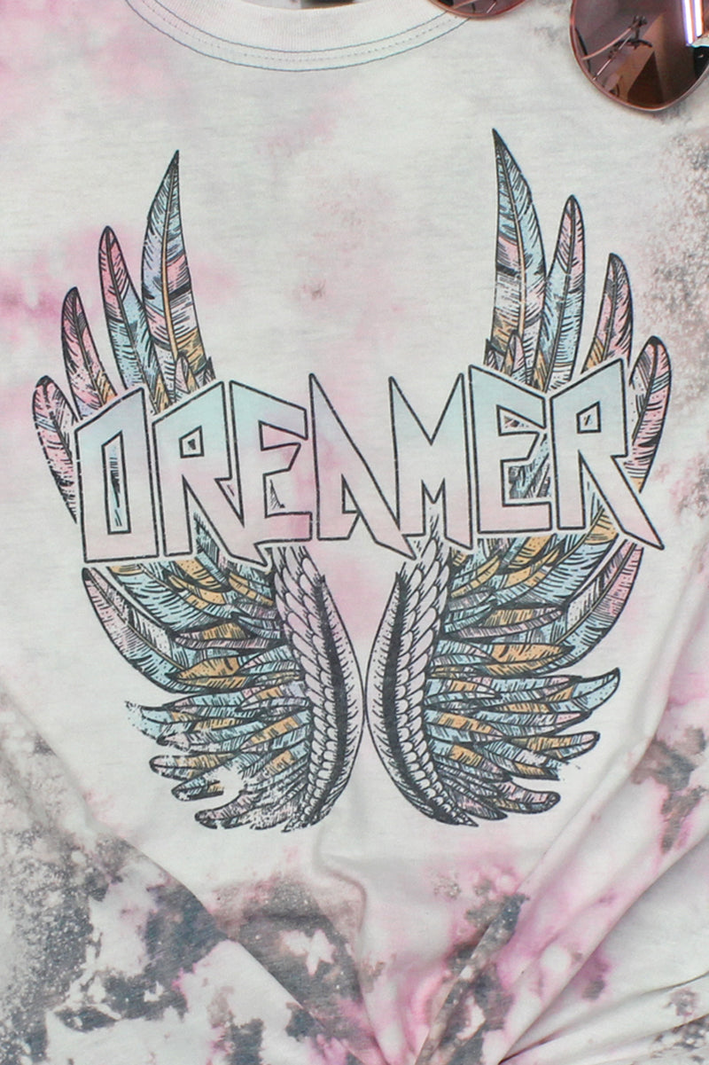 Bleached Vintage Dreamer Softstyle Adult T-Shirt