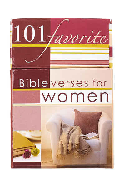 101 Favorite Bible Verses for Women Promise Cards