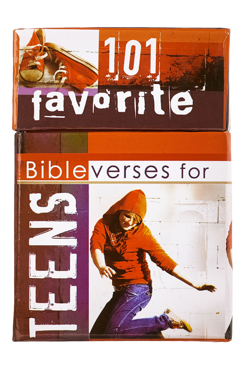 101 Favorite Bible Verses for Teens Promise Cards