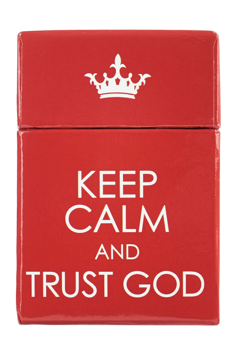Keep Calm and Trust God Promise Cards #BX086