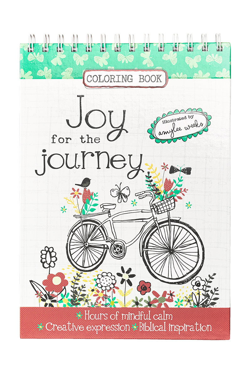 Joy for the Journey Adult Coloring Book #CLR008