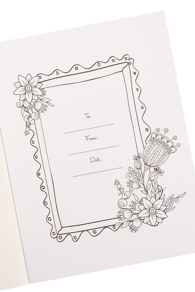 A Garland of Grace Adult Coloring Book