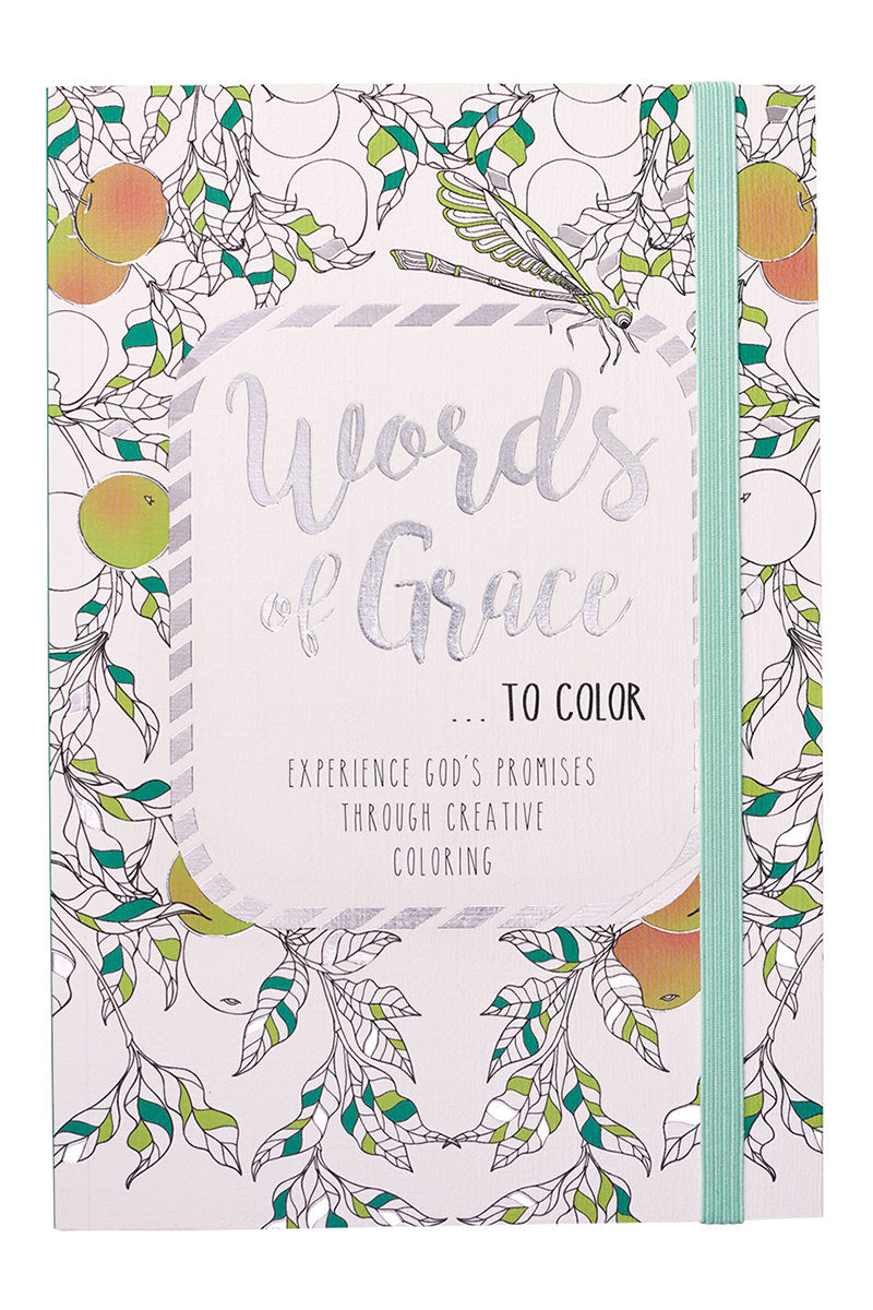 Words of Grace Adult Coloring Book