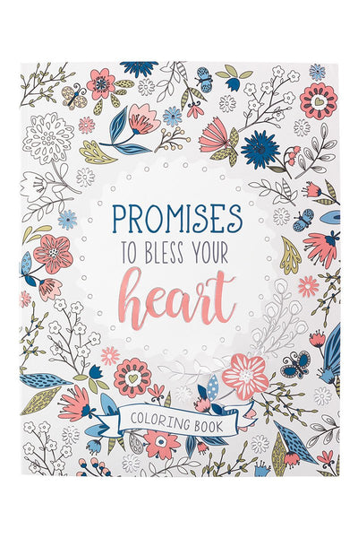 Promises To Bless Your Heart Adult Coloring Book