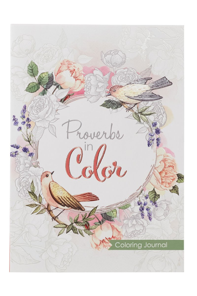 Proverbs in Color Inspirational Coloring Journal