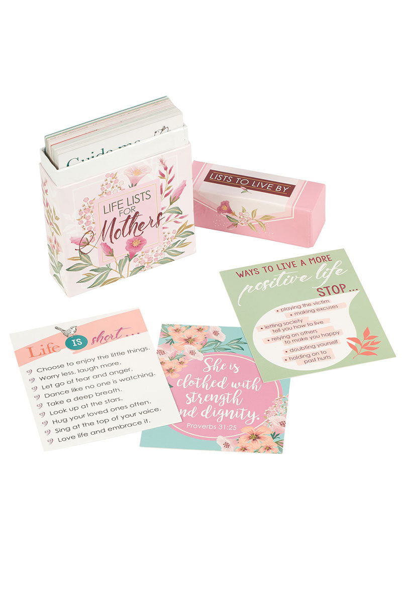 Life Lists For Mothers Boxed Cards