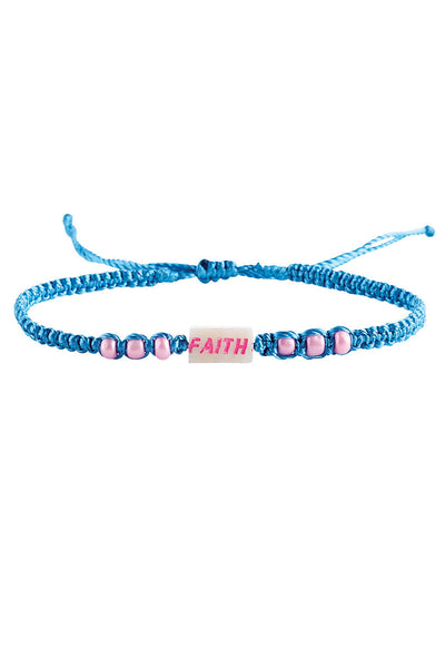 One Threads of Faith Shell Symbol Cord Bracelet - SHIPS ASSORTED