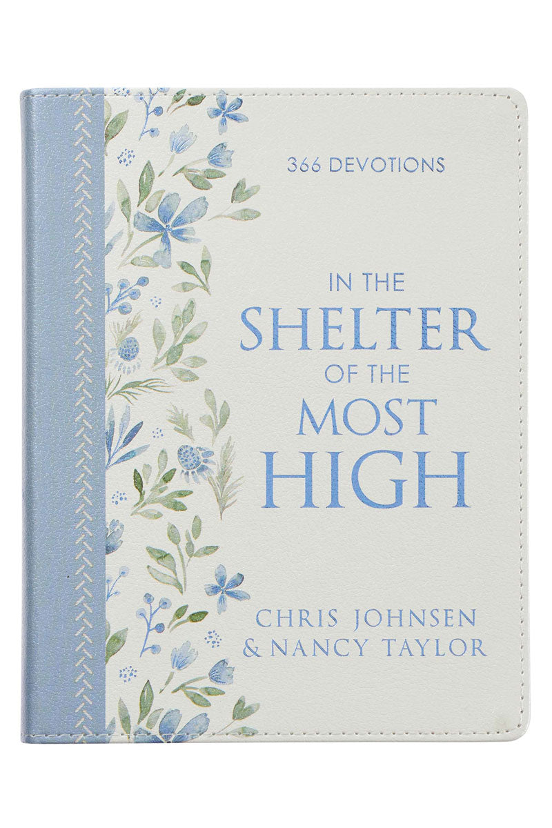 In The Shelter Of The Most High LuxLeather Devotional