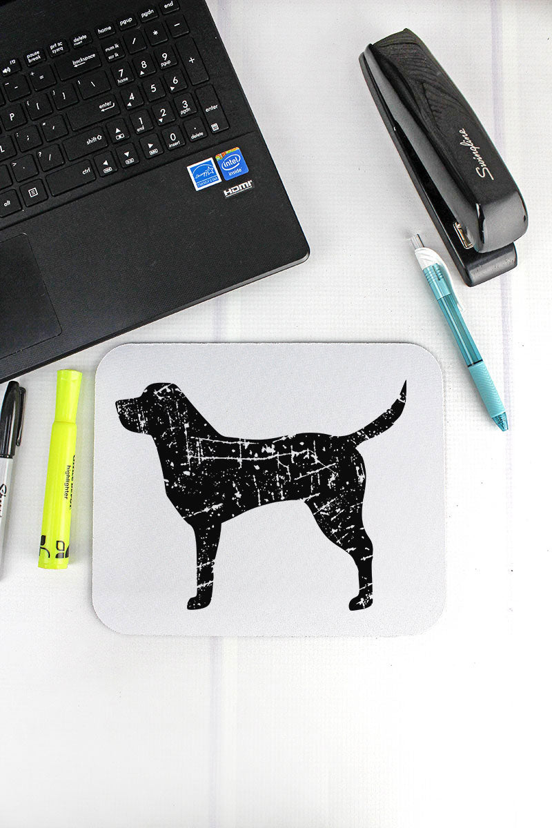 Distressed Labrador Mousepad