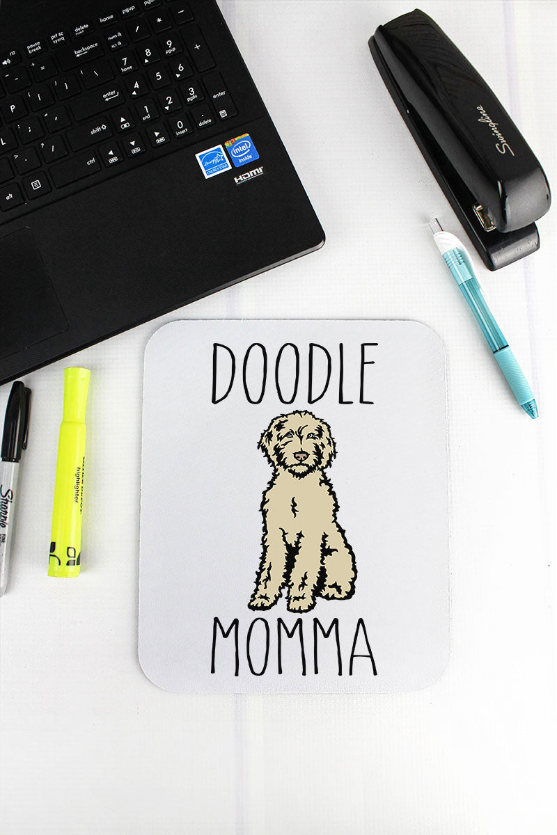 Sketch Doodle Momma Mousepad