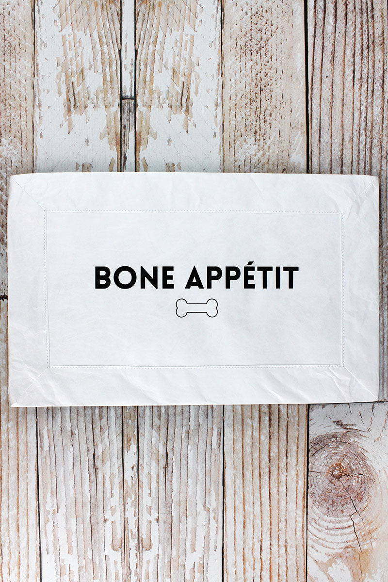 Bone Appetit Tyvek Pet Mat