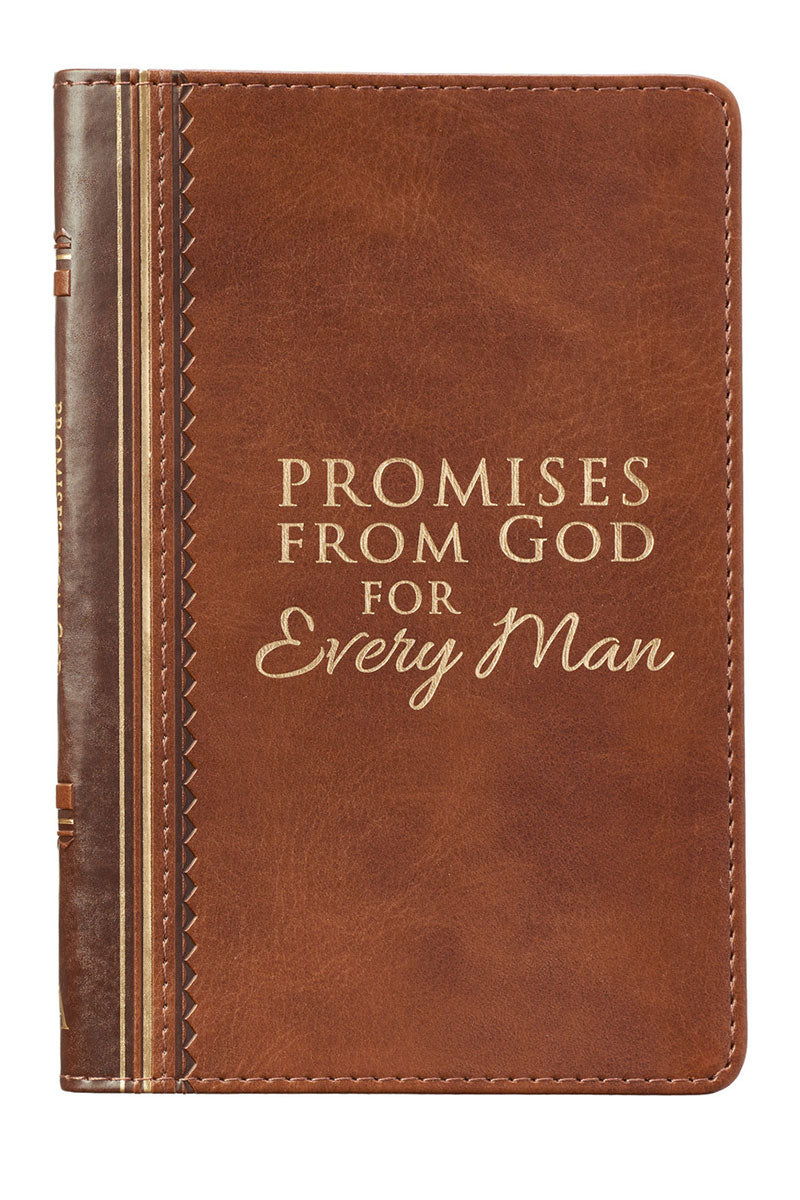 Promises From God For Every Man LuxLeather Book