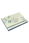 Psalm 52:8 Olive Branch Medium Glass Cutting Board