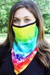 Outta Sight Tie-Dye Face Mask Neck Gaiter
