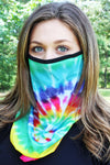 Hippie Chick Face Mask Neck Gaiter
