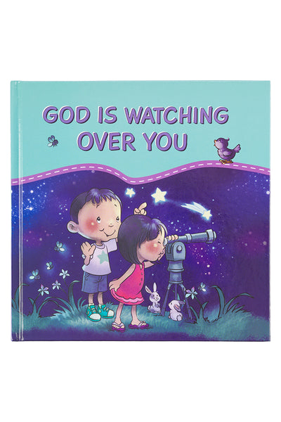 God Is Watching Over You Hardcover Book