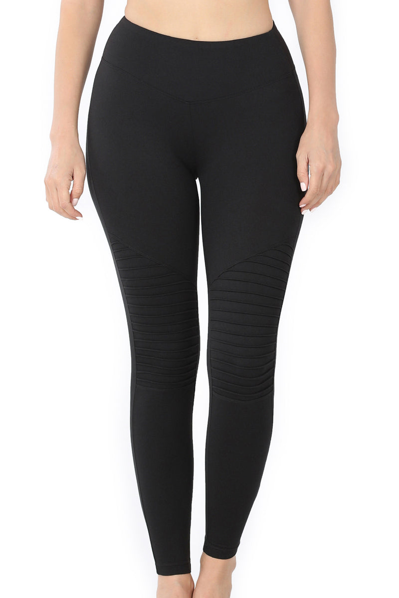 Black Moto Butter Leggings