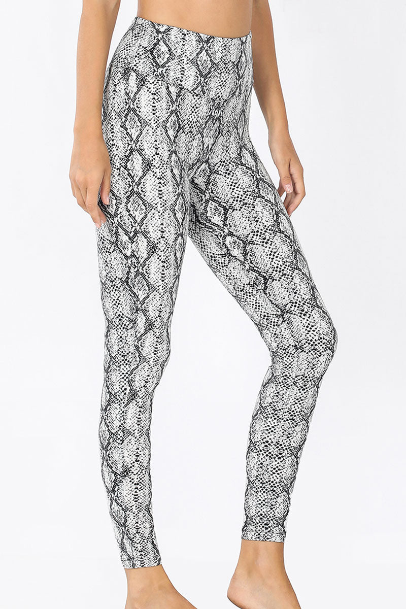 Snakeskin Butter Leggings
