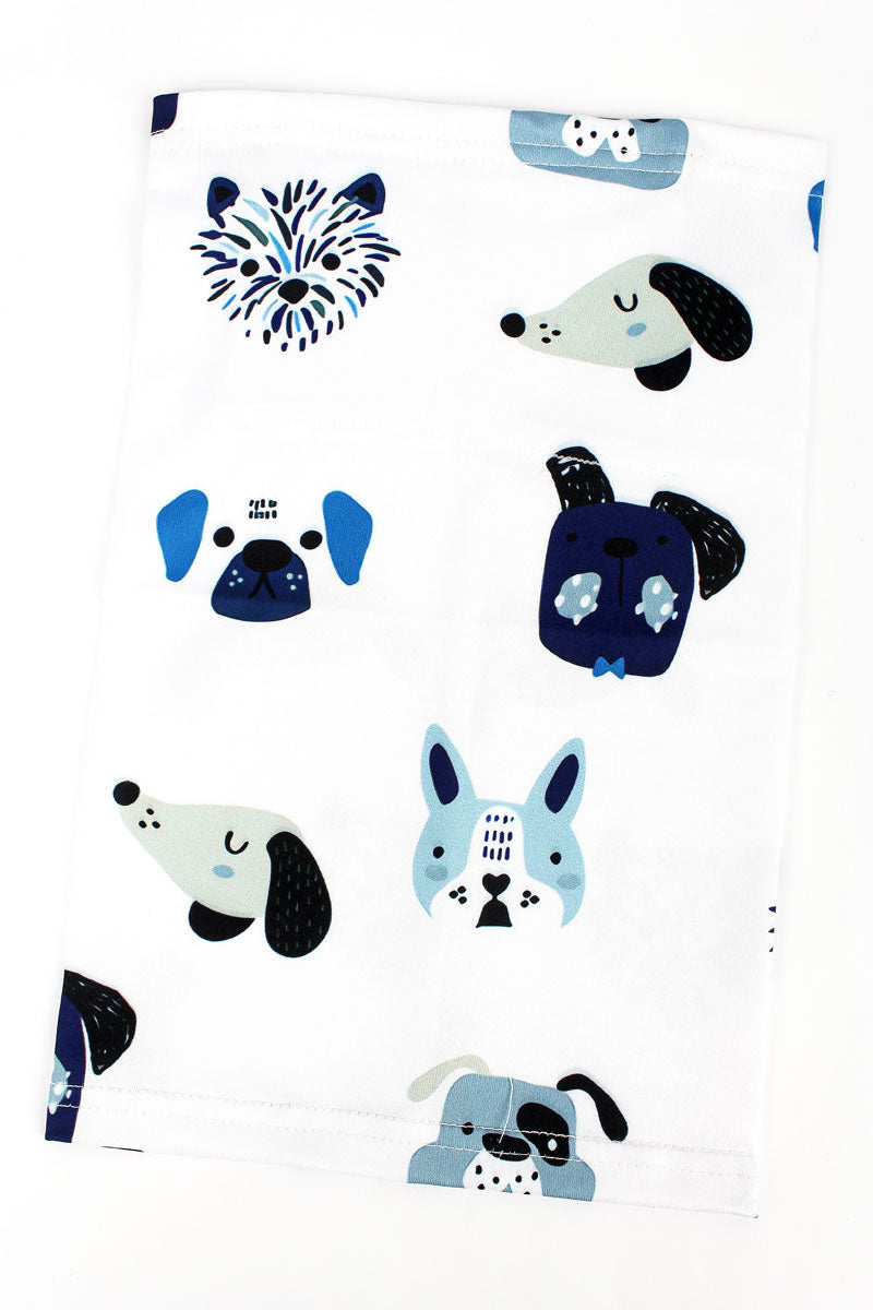 Kid's Adorable Dogs Neck Gaiter
