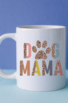 Colorful Dog Mama White Mug