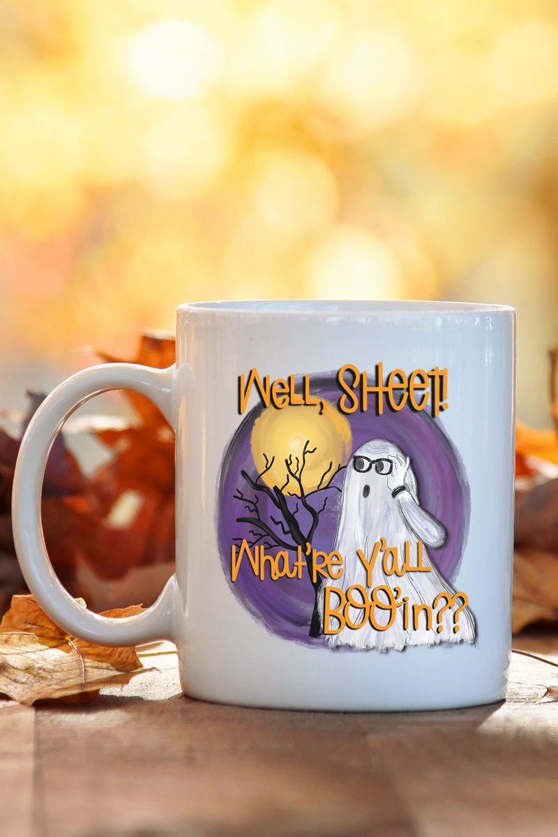 Well Sheet White Mug