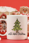 Wild About Christmas White Mug