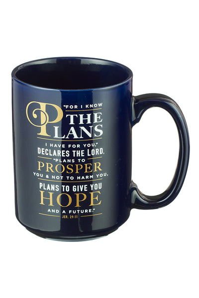 "Jeremiah 29:11 ""I Know the Plans"" Mug"