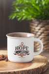 Hebrews 6:19 'Hope As An Anchor' Campfire Mug