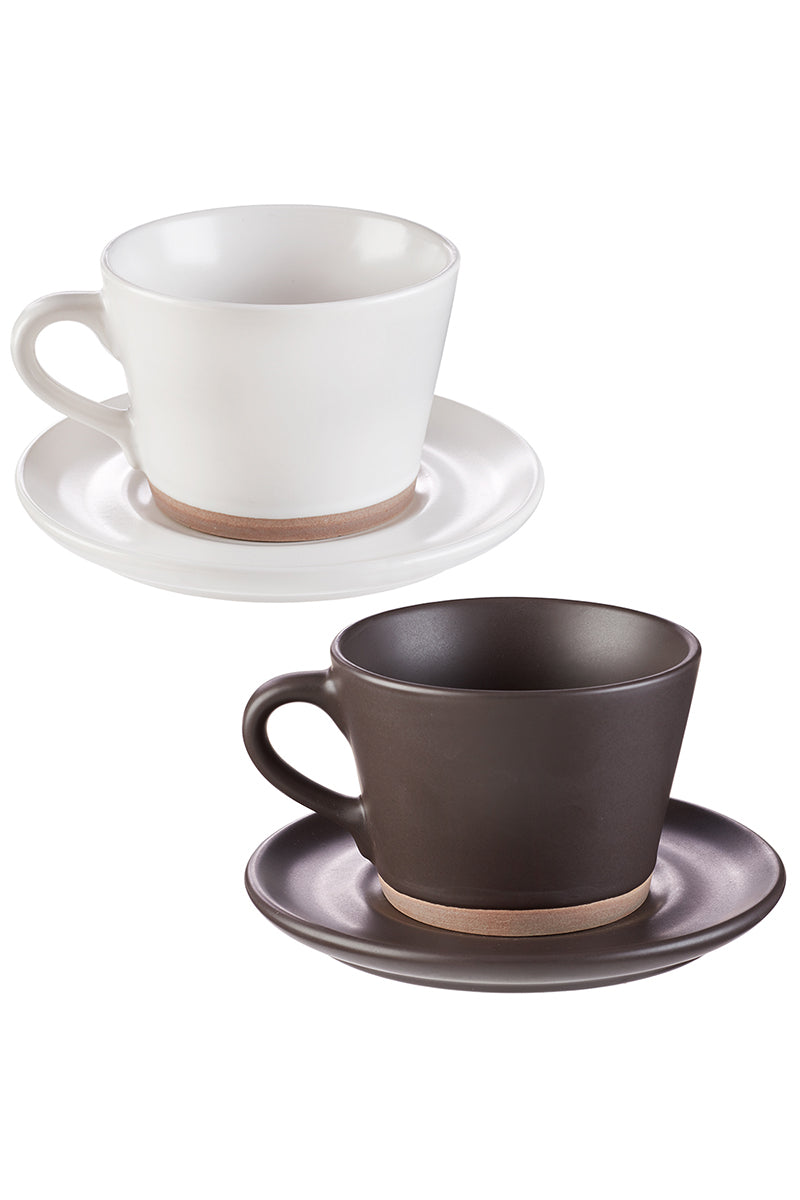 Mr & Mrs Coffee Mug and Saucer Set