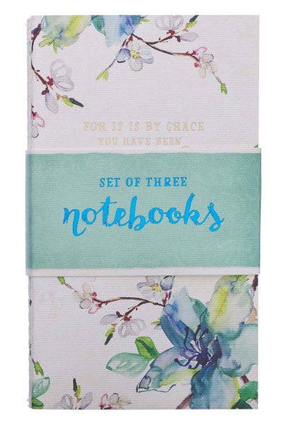 Set of 3 Inspirational Watercolor Notebooks