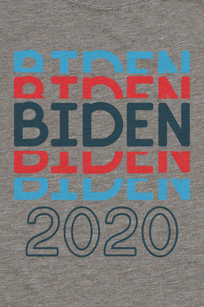 Stacked Biden 2020 Poly/Cotton Tee