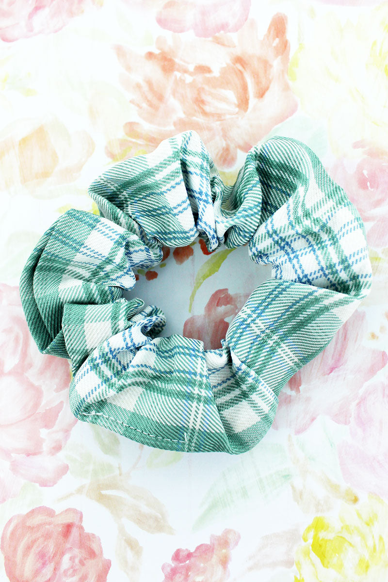 Mint To Be Scrunchie