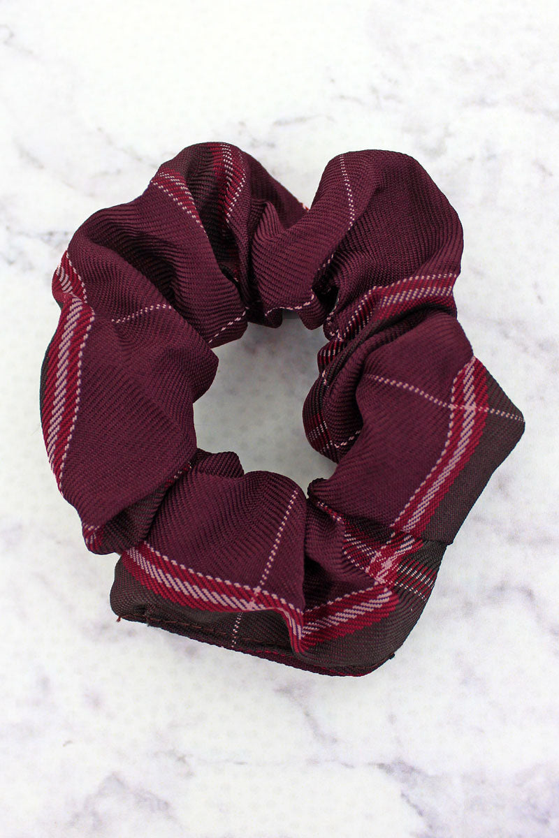 On Cloud Wine Scrunchie