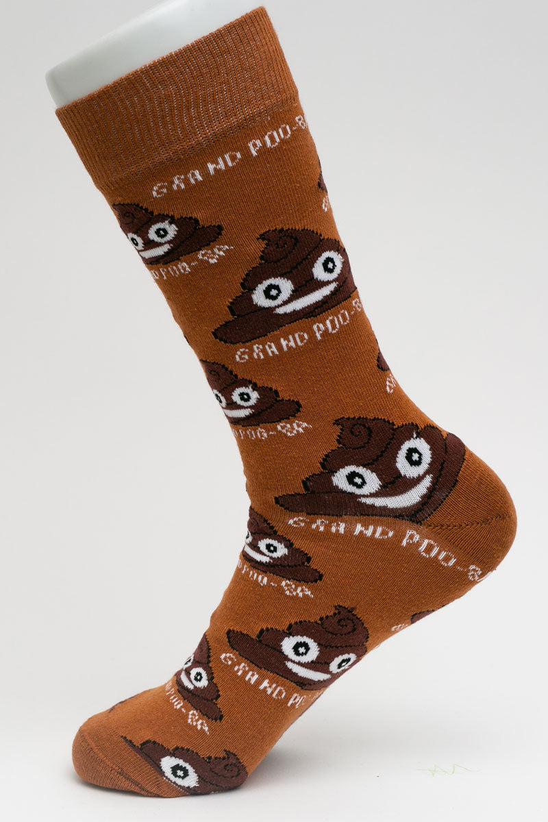 One Pair Large Grand Poo-Ba Socks