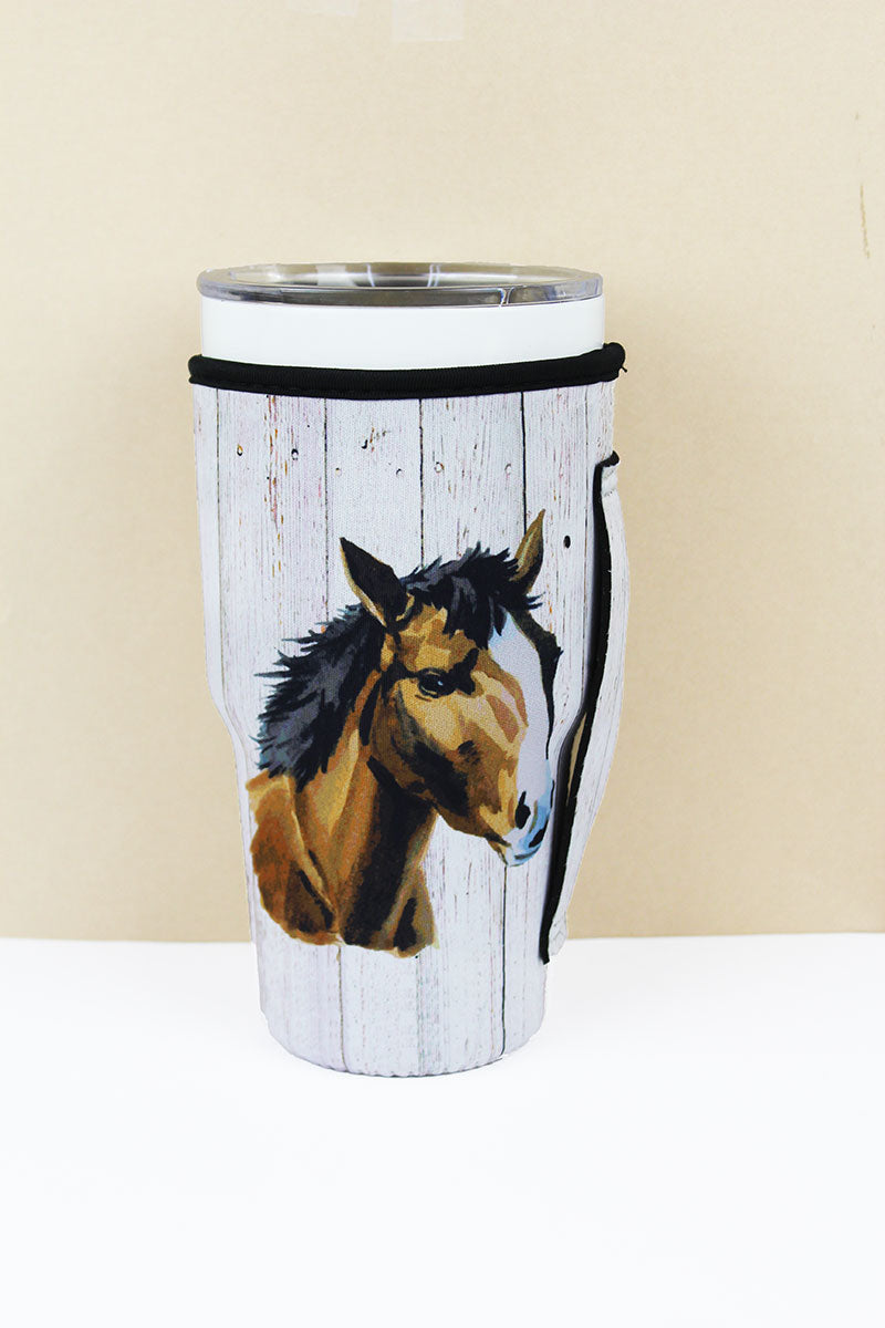 SALE! Horse Tumbler Drink Sleeve
