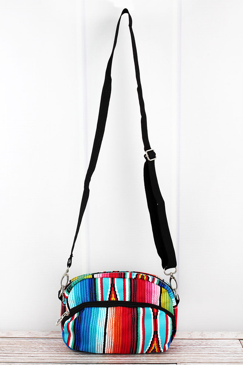 NGIL Southwest Serape Travel Crossbody Bag