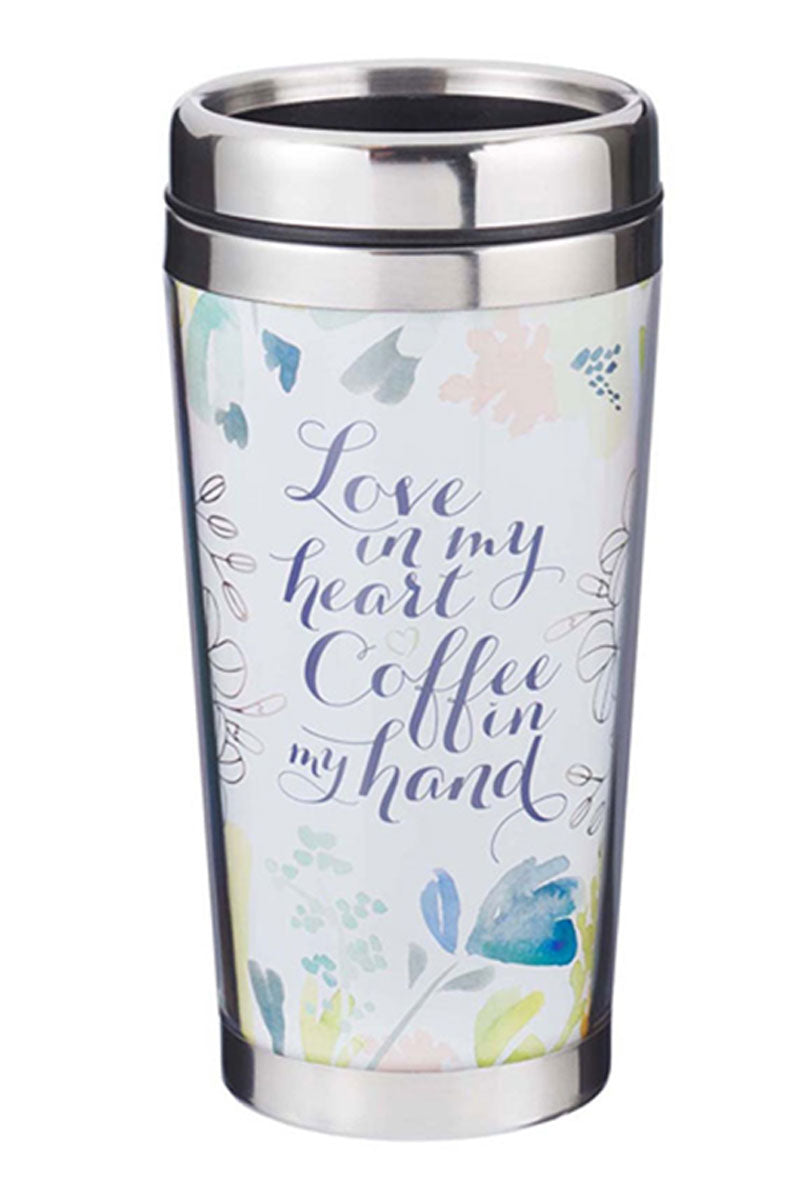 Love in My Heart Travel Mug