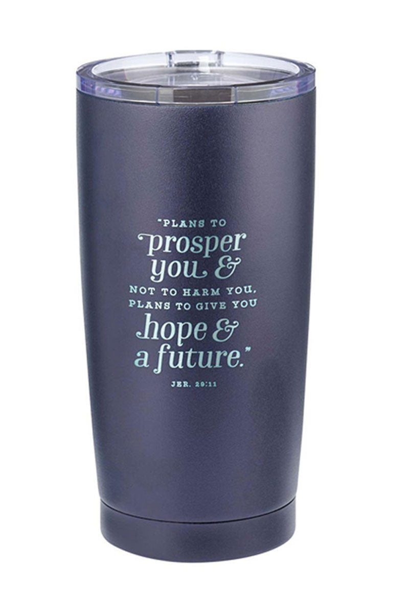 Hope & A Future Stainless Steel Travel Mug