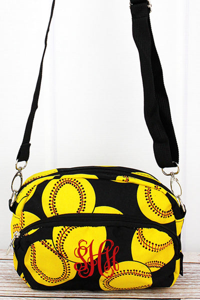 NGIL Softball Travel Crossbody Bag