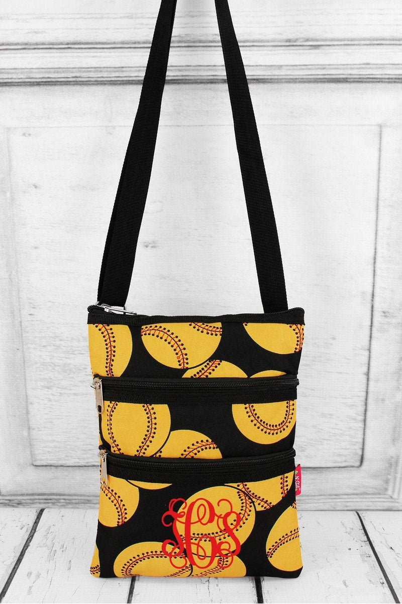 NGIL Softball Crossbody Bag