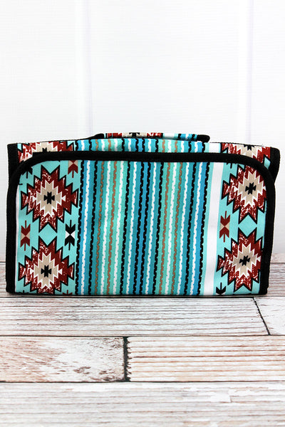 NGIL Adobe Sky Roll Up Cosmetic Bag