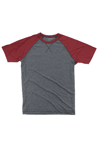 Boxercraft Garnet and Granite Double Play Tee